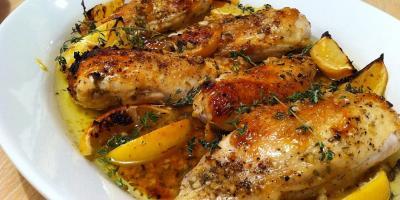 دجاج بالزعتر.. شهي وسهل التحضير