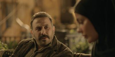 لقطة لطيفة تجمع بين نادين نجيم وقصي خولي من كواليس مسلسل