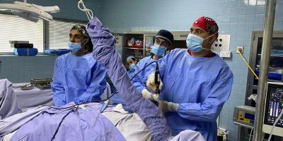 عملية جراحية الأولى من نوعها في الإمارات يتم فيها استئصال