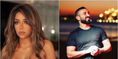 أحمد سعد وعلياء بسيوني في جلسة تصوير رومانسية بعد عقد