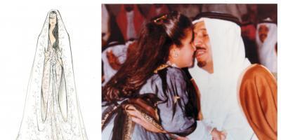 الأميرة حصة تتألق بمجوهرات من تصميم والدتها الراحلة..وفستان