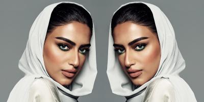 جميلات السعودية يخطفن الأنظار بالعبايات الملونة في سباق