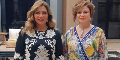 الهام شاهين وليلى علوي في أسبوع الموضة بالمغرب تكريمًا