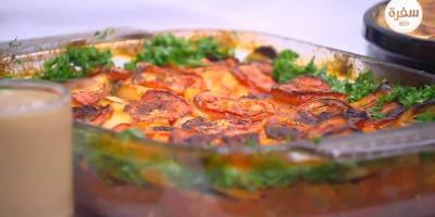 طريقة إعداد صينية البطاطا بكبدة الدجاج
