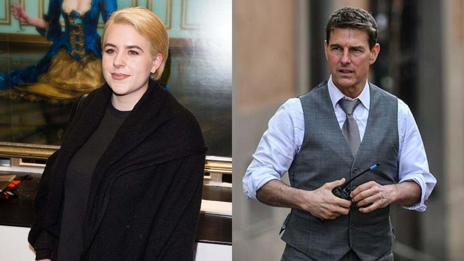 ابنة توم كروز ترفض الانتقال للعيش معه في منزله الفاخر في لندن | حلوة